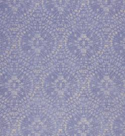 Amazing Cirkelbehang  blauw paars 6526