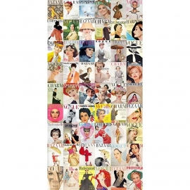 064. Esta Home Fotobehang Magazine Covers  158104