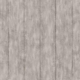 010. Esta Home Sloophout behang grijs/bruin 128010