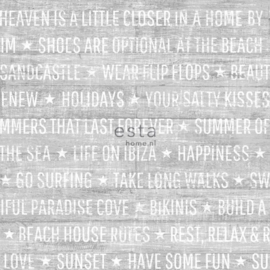 Esta Home Cabana Zomerse quotes behang 148638