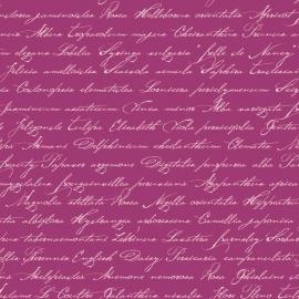 039. Esta Home Handgeschreven latijnse bloemennamen paars 128039