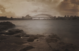 Dutch Fotobehang Sydney Vintage Brown