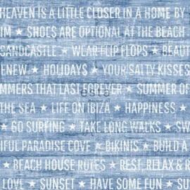 Esta Home Cabana Zomerse quotes behang 148643