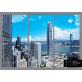 Dutch Wallcoverings Fotobehang Hong Kong