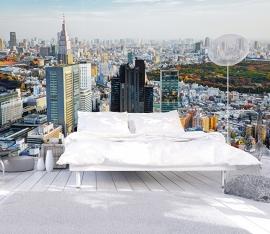 Dutch Fotobehang  Tokyo Kleur