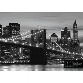 Dutch Wallcoverings Fotobehang Brooklyn Bridge