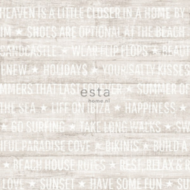 Esta Home Cabana Zomerse quotes behang 148639