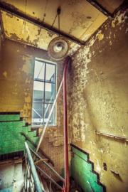 Oude trapopgang