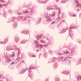 015. Esta Home Aquarel rozen paars 128015