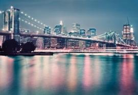 36. Komar Fotobehang New York Neon 8-731