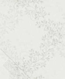 Behangexpresse Maison 6920-10 Blaadjesbehang creme grijs