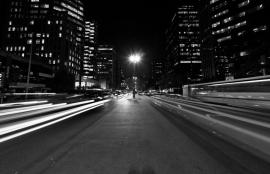 Dutch Fotobehang Sao Paulo Zwart Wit