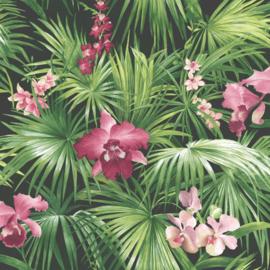 Noordwand Global Fusion Tropisch bloembehang 6435