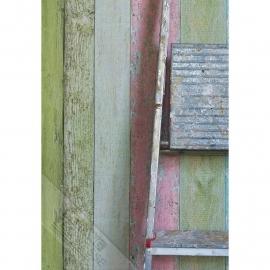 Behangexpresse Gekleurd hout