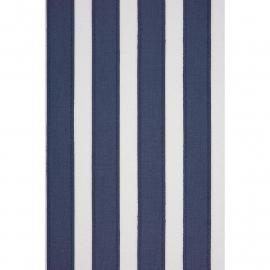 Casadeco Marina Streepbehang blauw creme