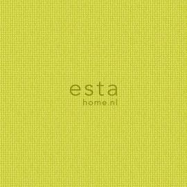 056. Esta Home Uni geel met stofmotief 138132