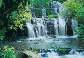 27. Komar Fotobehang Pura Kaunui Falls 8-256