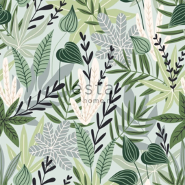 Esta Home Jungle Fever Wallpaper XXL Scandinavian Leaves 158894