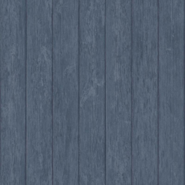 Noordwand Global Fusion Hout behang Blauw 6441