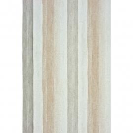 Casadeco Marina Streepbehang met Houtmotief in beige grijs