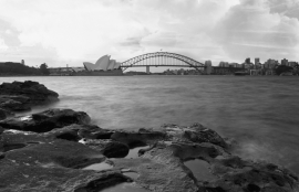 Dutch Fotobehang Sydney Zwart Wit