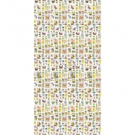 68. Esta Home Fotobehang Postzegels  158109