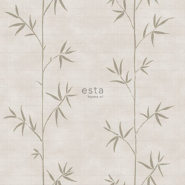 Esta Home Blush Bamboe behang 148726 beige
