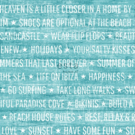 Esta Home Cabana Zomerse quotes behang 148642