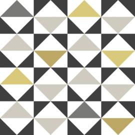 Esta Home Scandi Cool behang Grafische Driehoeken 139095