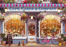 Eurographics 5520 - Cups, Cakes & Company - 1000 stukjes