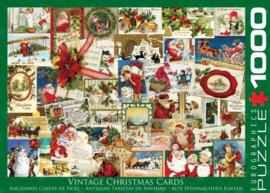 Eurographics 0784 - Vintage Christmas Cards - 1000 stukjes