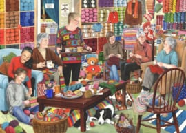 House of Puzzles - Knit & Natter - 1000 stukjes