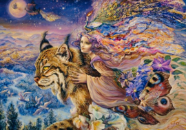 Grafika Josephine Wall - Flight of the Lynx - 2000 stukjes