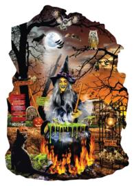SunsOut 96036 - Witch's Brew - 1000 stukjes  Vormpuzzel