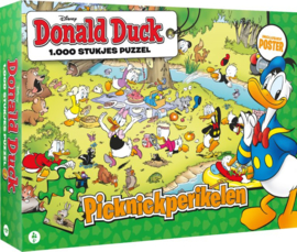 Just Games Disney Donald Duck 3 - Ballenbende - 1000 stukjes