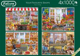 Falcon de Luxe 11249 - Your Favorite Shops - 4x500 stukjes