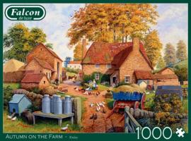 Falcon de Luxe - Autumn on the Farm - 1000 stukjes