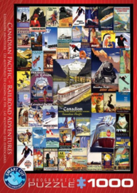 Eurographics 0648 - Railroad Adventures  - 1000 stukjes