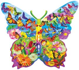 Master Pieces - Butterfly - 1000 stukjes  Vormpuzzel