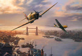 Gibsons 3112 - Spitfire Skirmish - 500 stukjes