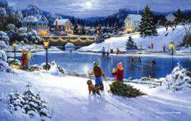 SunsOut 75172 - Joyful Seasons - 550 stukjes