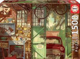 Educa - Old Garage - 1500 stukjes