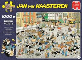 Jan van Haasteren - De Veemarkt - 1000 stukjes