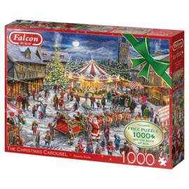 Falcon de Luxe 11308 - The Christmas Carousel - 2x1000 stukjes