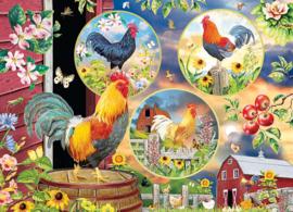 Cobble Hill - Rooster Magic - 500XL stukjes