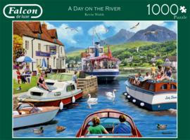 Falcon de Luxe 11241 - a Day on the River - 1000 stukjes