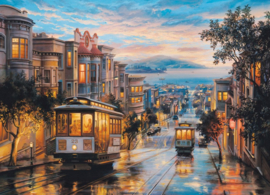 Eurographics 0957 - San Francisco Cable Car Heaven - 1000 stukjes