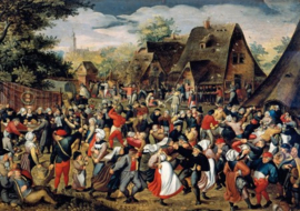 Wentworth - The Village Festival - 40 stukjes  (Pieter Brueghel)