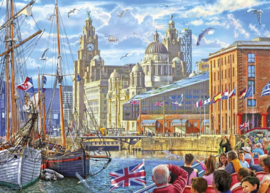 Gibsons 6298 - Albert Dock, Liverpool - 1000 stukjes