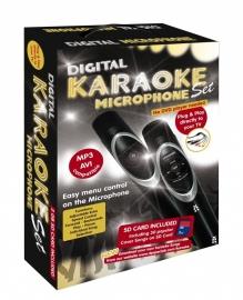 NIEUW!!!   Digital KARAOKE Microphone Set